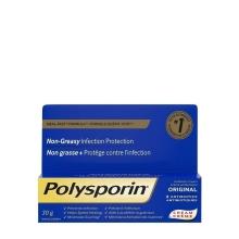 POLYSPORIN® Original Antibiotic Cream HEAL-FAST® Formula Non-greasy Infection Protection, 30g