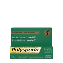 POLYSPORIN® Original Antibiotic Ointment with Heal-Fast Formula for infection protection plus vitamin E, 2 antibiotics