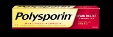 polysporin plus pain relief cream box