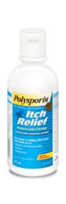 polysporin itch relief lotion bottle