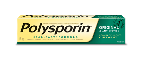 polysporin original antibiotic ointment box