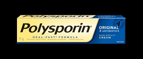polysporin original antibiotic cream box