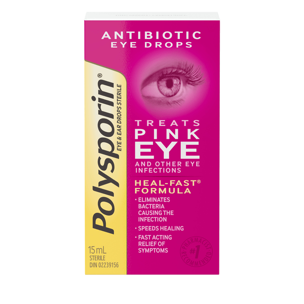 polysporin eye and ear drops box