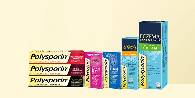 the polysporin product lineup